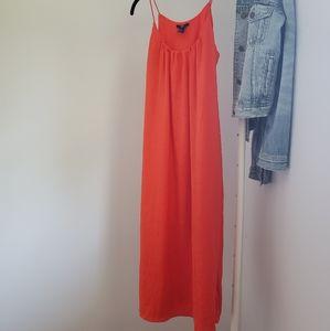 H&M Orange Sundress-size 4